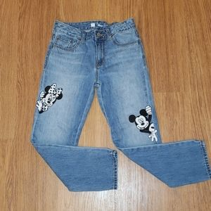 Gap-Disney Mickey and Minnie jeans